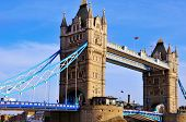 LONDON - MAY 6: Tower Bridge on May 6, 2011 in London, United Kingdom. This 244 metres (801 ft) long