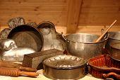 Kitchen Supplies Background