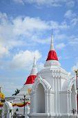Thai Weißen Pagode