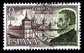 Portrait Of Spanish Architect And Scholar Juan De Herrera