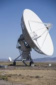 Vla Radio Telescope Antenna