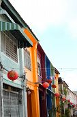 Chaina town Phuket, Thailand.