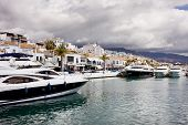 Puerto Banus In Spain