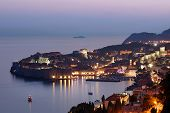 Dubrovnik At Sunset, Croatia