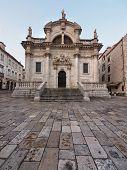 Church Of Saint Blaise In Dubrovnik , Croatia