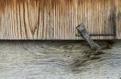 Detail Of Wooden Window Shutter