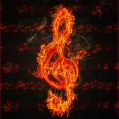 Clef On Fire