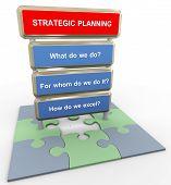 3D Strategic Planning Concept