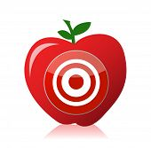 Apple Target Illustration Design