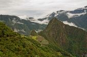 View Pver Machu Picchu, Peru