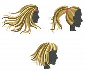 Golden Woman Hair Model On Dummies