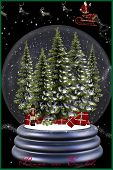 All About Christmas Snowglobe