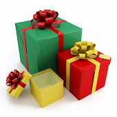 Three Boxes For Gifts