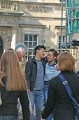 Asian Couple In York England