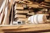 martelos em carpintaria