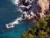 Alania Bay In Mediterranean Sea, Turkey