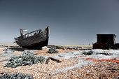 Trawler Fishing Boat Wreck Derelict