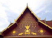Gable Apex Ornament Temple
