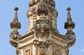Virgin column. Nardo. Puglia. Italy.