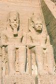 Ramsés Ii no Templo de Abu Simbel
