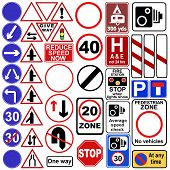 Uk Road Sign Collection