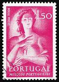 Postage stamp Portugal 1974 Luisa Todi, Singer