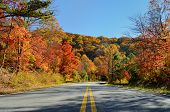 Cherohala Skyway im Oktober