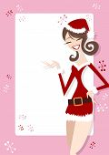 Santa Girl Pink