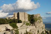 The Venus caste of Erice, Sicily, Italy.