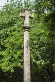 Stone Cross, Basilica Of Pradro