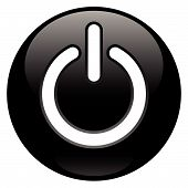 Black Power Button