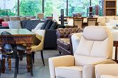 stock photo of thrift store  - A shop with stylish and classy furniture pieces - JPG
