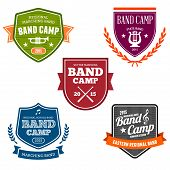 Band Camp Badges