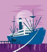 Ship At The Docks