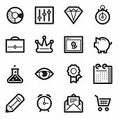 SEO & Internet Marketing Icons Set 3 - Simpla Series