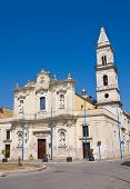 Church of Carmine. Cerignola. Puglia. Southern Italy.
