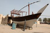 Beached Arab Dhow