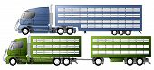 Trucks With Animal Transportation Trailers