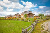 Etno eko village Vrane�?�?�?�¡a, near Kokin Brod, Zlatar mountain, Srbija.