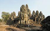 Bayon Temple Horizontal Panorama