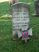 Confederate Grave Site of the Wade Brothers