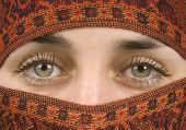 Gorgeous Eyes Of A Muslim Lady