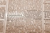 Capitalization - Dictionary Definition