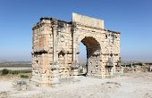 Arch in Volubilis, Morocco
