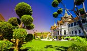 Royal grand Palace in Bangkok. Traditionelle Thai-Architektur