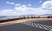 Viewpoint Near Lake Meade Nevada.