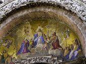 Mosaic Of San Marko Basilica In Venice