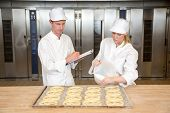 Baker Apprentice And Instructor In Bakery