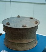 pic of bottomless  - Bronze drum - JPG