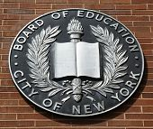 The seal of the City of New York Board of Education